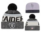 Cheap NFL Oakland Raiders Logo Stitched Knit Beanies 013