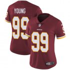 Cheap Nike Redskins #99 Chase Young Burgundy Red Team Color Women's Stitched NFL Vapor Untouchable Limited Jersey