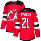 Cheap Adidas Devils #21 Kyle Palmieri Red Home Authentic Stitched Youth NHL Jersey