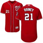 Cheap Nationals #21 Tanner Rainey Red Flexbase Authentic Collection Stitched MLB Jersey