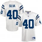 Cheap Colts #40 Jamie Silva White Stitched NFL Jersey