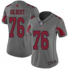 Cheap Nike Cardinals #76 Marcus Gilbert Silver Women's Stitched NFL Limited Inverted Legend Jersey