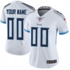 Cheap Nike Tennessee Titans Customized White Stitched Vapor Untouchable Limited Women's NFL Jersey
