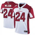 Cheap Nike Cardinals #24 Adrian Wilson White Men's Stitched NFL Vapor Untouchable Limited Jersey