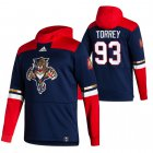 Cheap Florida Panthers #93 Bill Torrey Adidas Reverse Retro Pullover Hoodie Navy