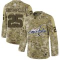Cheap Adidas Capitals #25 Devante Smith-Pelly Camo Authentic Stitched NHL Jersey