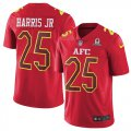 Cheap Nike Broncos #25 Chris Harris Jr Red Youth Stitched NFL Limited AFC 2017 Pro Bowl Jersey