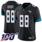Cheap Nike Jaguars #88 Tyler Eifert Black Team Color Youth Stitched NFL 100th Season Vapor Untouchable Limited Jersey