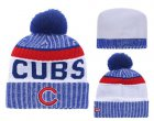 Cheap MLB Chicago Cubs Logo Stitched Knit Beanies 009