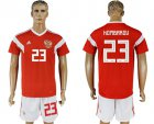 Cheap Russia #23 Kombarov Home Soccer Country Jersey