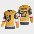 Cheap Vegas Golden Knights #27 Shea Theodore Men's Adidas 2020-21 Authentic Player Alternate Stitched NHL Jersey Gold