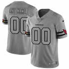 Cheap Arizona Cardinals Custom Men's Nike Gray Gridiron II Vapor Untouchable Limited NFL Jersey