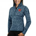 Cheap Calgary Flames Antigua Women's Fortune 1/2-Zip Pullover Sweater Royal