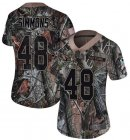 Cheap Nike Cardinals #48 Isaiah Simmons Camo Women's Stitched NFL Limited Rush Realtree Jersey
