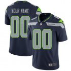 Cheap Nike Seattle Seahawks Customized Steel Blue Team Color Stitched Vapor Untouchable Limited Men's NFL Jersey