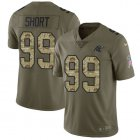 Cheap Nike Panthers #99 Kawann Short Olive/Camo Youth Stitched NFL Limited 2017 Salute to Service Jersey