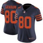 Cheap Nike Bears #80 Jimmy Graham Navy Blue Alternate Women's Stitched NFL Vapor Untouchable Limited Jersey