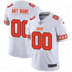 Cheap Cleveland Browns Custom Nike White Team Logo Vapor Limited NFL Jersey