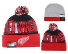 Cheap Detroit Red Wings Beanies YD004