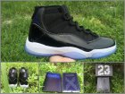 Cheap Air Jordan 11 Space Jam 2016 Black/Dark Concord-White