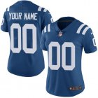 Cheap Nike Indianapolis Colts Customized Royal Blue Team Color Stitched Vapor Untouchable Limited Women's NFL Jersey