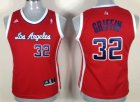 Cheap Los Angeles Clippers #32 Blake Griffin Red Womens Jersey