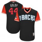 "Cheap Diamondbacks #44 Paul Goldschmidt Black ""Goldy"" Players Weekend Authentic Stitched MLB Jersey"
