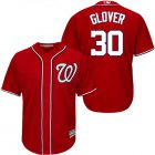 Cheap Nationals #30 Koda Glover Red New Cool Base Stitched MLB Jersey