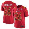 Cheap Nike Broncos #26 Darian Stewart Red Youth Stitched NFL Limited AFC 2017 Pro Bowl Jersey