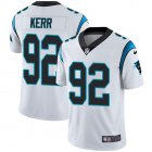 Cheap Nike Panthers #92 Zach Kerr White Men's Stitched NFL Vapor Untouchable Limited Jersey