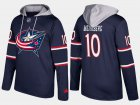 Cheap Blue Jackets #10 Alexander Wennberg Navy Name And Number Hoodie