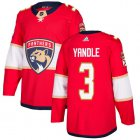 Cheap Adidas Panthers #3 Keith Yandle Red Home Authentic Stitched Youth NHL Jersey