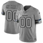 Cheap Seattle Seahawks Custom Men's Nike Gray Gridiron II Vapor Untouchable Limited NFL Jersey
