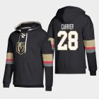 Cheap Vegas Golden Knights #28 William Carrier Black adidas Lace-Up Pullover Hoodie