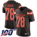 Cheap Nike Browns #13 Odell Beckham Jr Brown Men's Stitched NFL Limited Rush Jersey