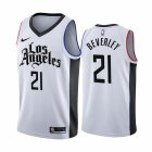 Cheap Nike Clippers #21 Patrick Beverley 2019-20 White Los Angeles City Edition NBA Jersey