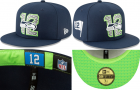 Cheap Seattle Seahawks fitted hats 10