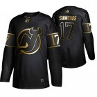 Cheap Adidas Devils #17 Wayne Simmonds Men's 2019 Black Golden Edition Authentic Stitched NHL Jersey