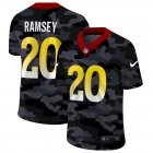 Cheap Los Angeles Rams #20 Jalen Ramsey Men's Nike 2020 Black CAMO Vapor Untouchable Limited Stitched NFL Jersey