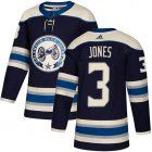 Cheap Adidas Blue Jackets #3 Seth Jones Navy Alternate Authentic Stitched Youth NHL Jersey