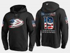 Cheap Ducks #19 Andy Mcdonald NHL Banner Wave Usa Flag Black Hoodie