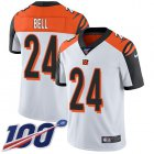 Cheap Nike Bengals #24 Vonn Bell White Youth Stitched NFL 100th Season Vapor Untouchable Limited Jersey