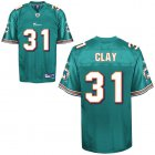 Cheap Dolphins #31 Charles Clay Green Stitched NFL Jersey