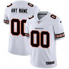 Cheap Cincinnati Bengals Custom Nike White Team Logo Vapor Limited NFL Jersey