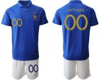 Cheap France Personalized 100th Anniversary Edition Soccer Country Jersey