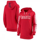 Cheap Los Angeles Angels G-III 4Her by Carl Banks Women's Extra Innings Pullover Hoodie Red