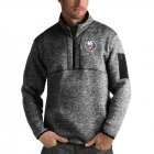 Cheap New York Islanders Antigua Fortune Quarter-Zip Pullover Jacket Charcoal