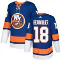 Cheap Adidas Islanders #18 Anthony Beauvillier Royal Blue Home Authentic Stitched Youth NHL Jersey
