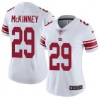 Cheap Nike Giants #29 Xavier McKinney White Women's Stitched NFL Vapor Untouchable Limited Jersey