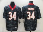 Cheap Men's Chicago Bears #34 Walter Payton 2020 Camo Limited Stitched Nike NFL Jersey